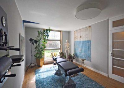 Chiropraktik Waier - Behandlungszimmer